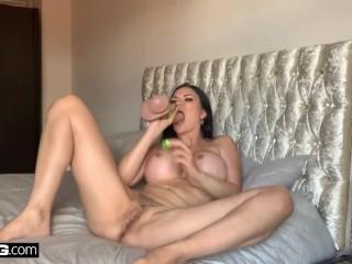BANG Surprise – Hot Big Boobs MILF Playing With Sextoys